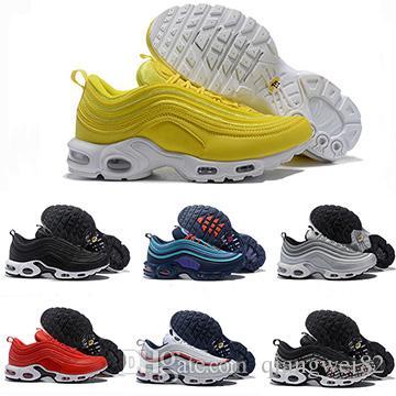 TN Koşu Ayakkabıları Erkek Kadın Tur Sarı Siyah Beyaz Orewood Turuncu Kahverengi Mavi TN Kadın Tasarımcı Spor Sneakers Boyutu 36-46