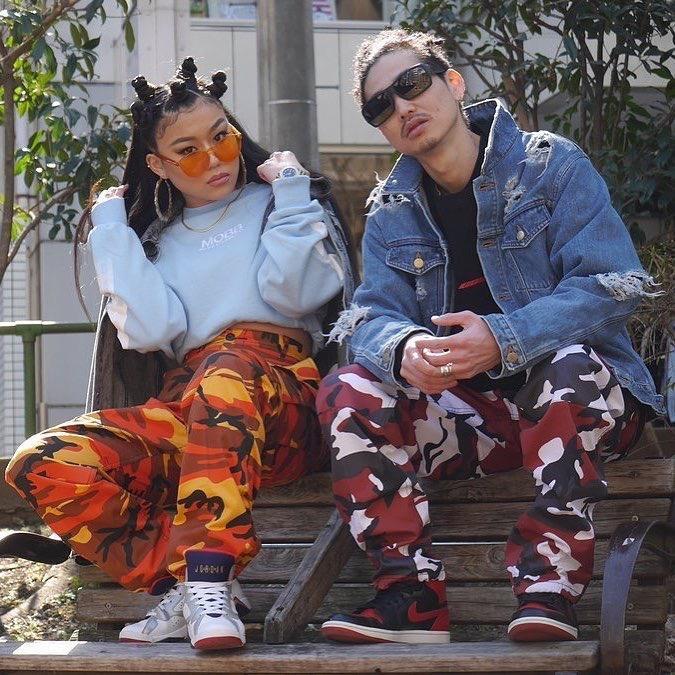 2018 Mens Marca Camo calças cargo Hiphop Casual Cotton Multi Pockets Streetwear Pants Moda Baggy Tactical calças