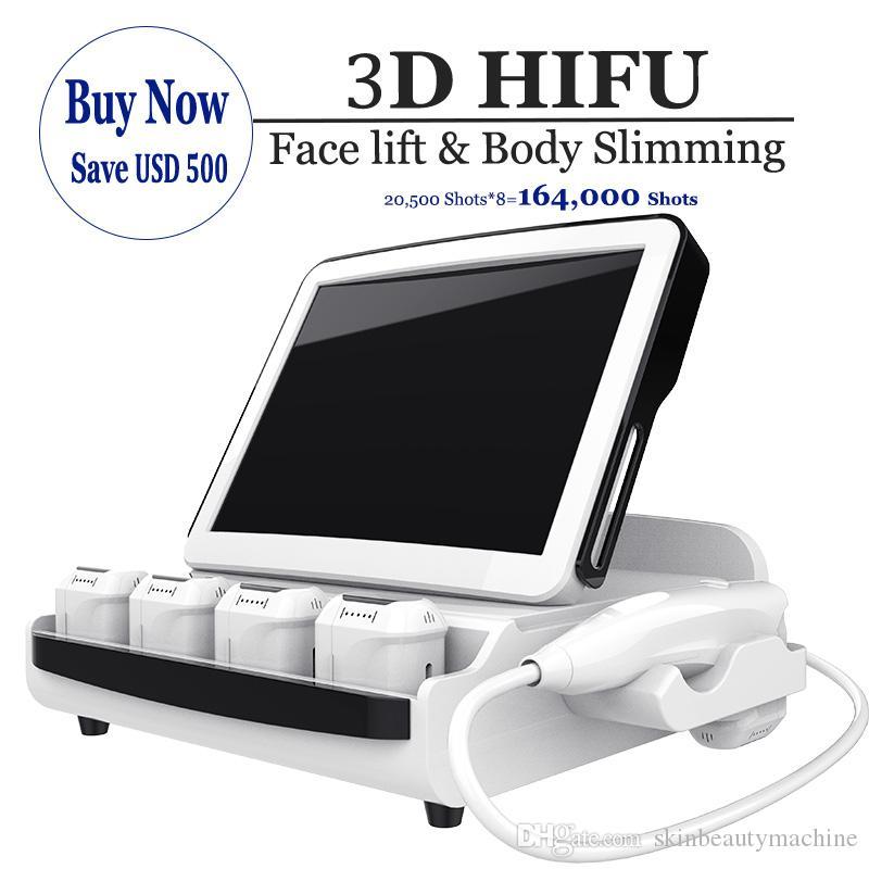 High-End-HIFU-Gesichtsliftmaschine 3D-Haut SMAS-Behandlung Falten-Entfernung HIFU-Ultraschalltherapie-Hautanzugsmaschine