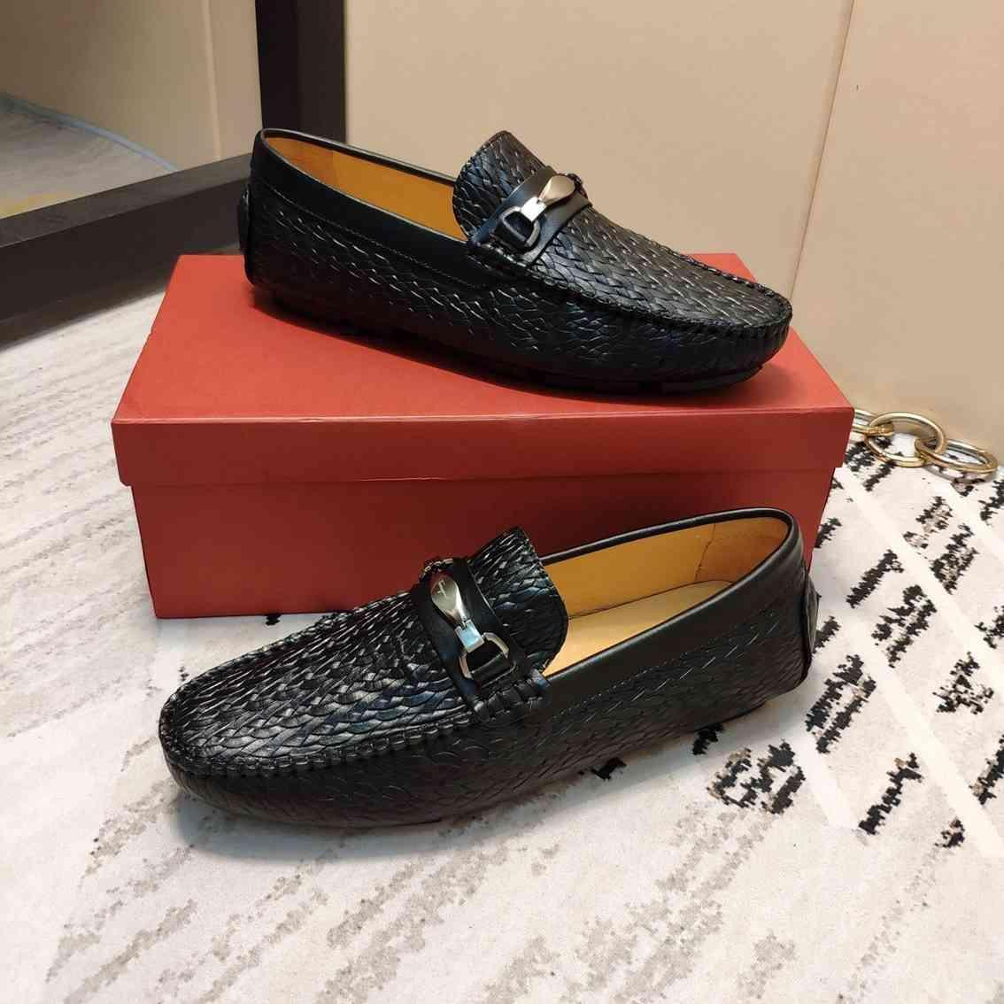 2019Designer Hommes Luxe Chaussures Baskets SneakersFerragamo 2020 chaussures pour hommes 38-45 1127-7