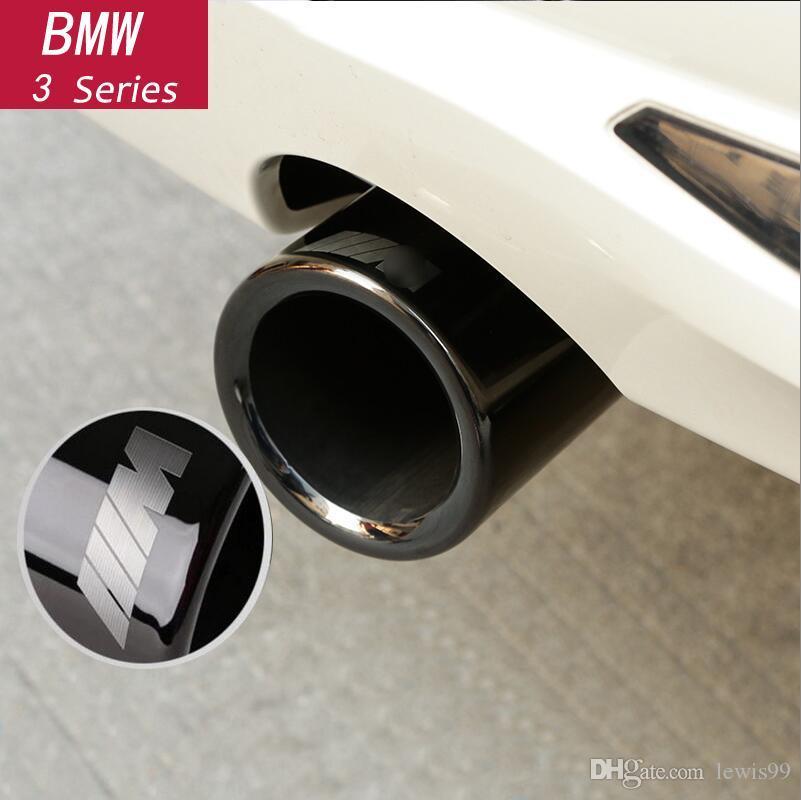 De escape de automóviles-estilo trasero bastidor tubular ajuste de la cubierta para BMW 1 2 3 4 5 7 Serie X1 3GT F20 F22 F30 F32 F34 F10 F48 G30 G11 Accesorios para automóviles