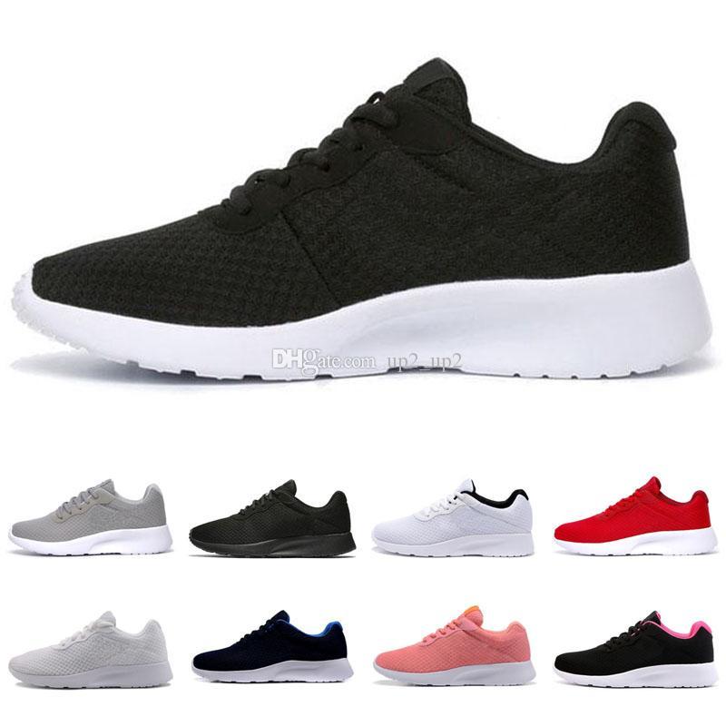 Ucuz Londra Run Ayakkabıları Tanjun 1.0 3.0 Siyah Beyaz Kırmızı Erkek Bayan Spor Açık Ayakkabı Londra Olimpiyat Çalıştırır Ayakkabı Yürüyüş Sneakers