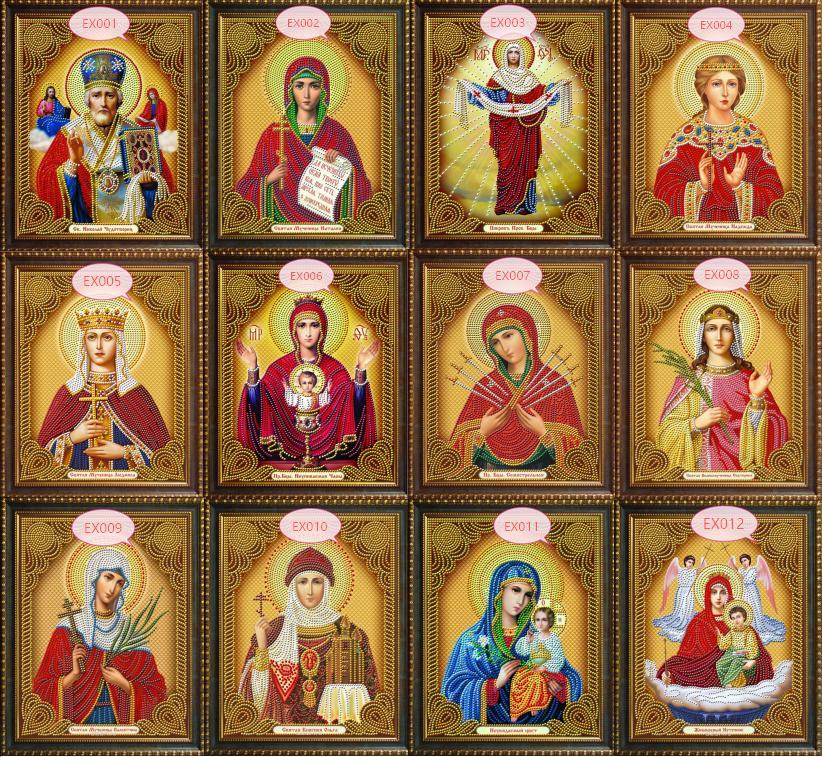 Chaude 5d BRICOLAGE Diamant Peinture Point De Croix Religion icône de leader Diamant Mosaïque vrai religieux hommes Diamant Broderie Strass