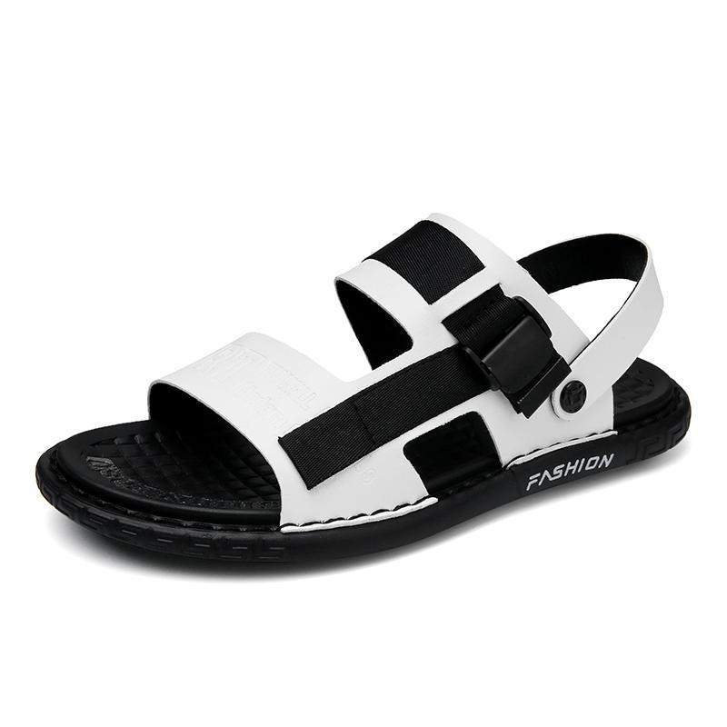 ALSYIQI Hommes Sandales HookLoop Chaussures d'été Hommes 2020 Mode Casual Waterproof Sandales de plage Chaussures de marche
