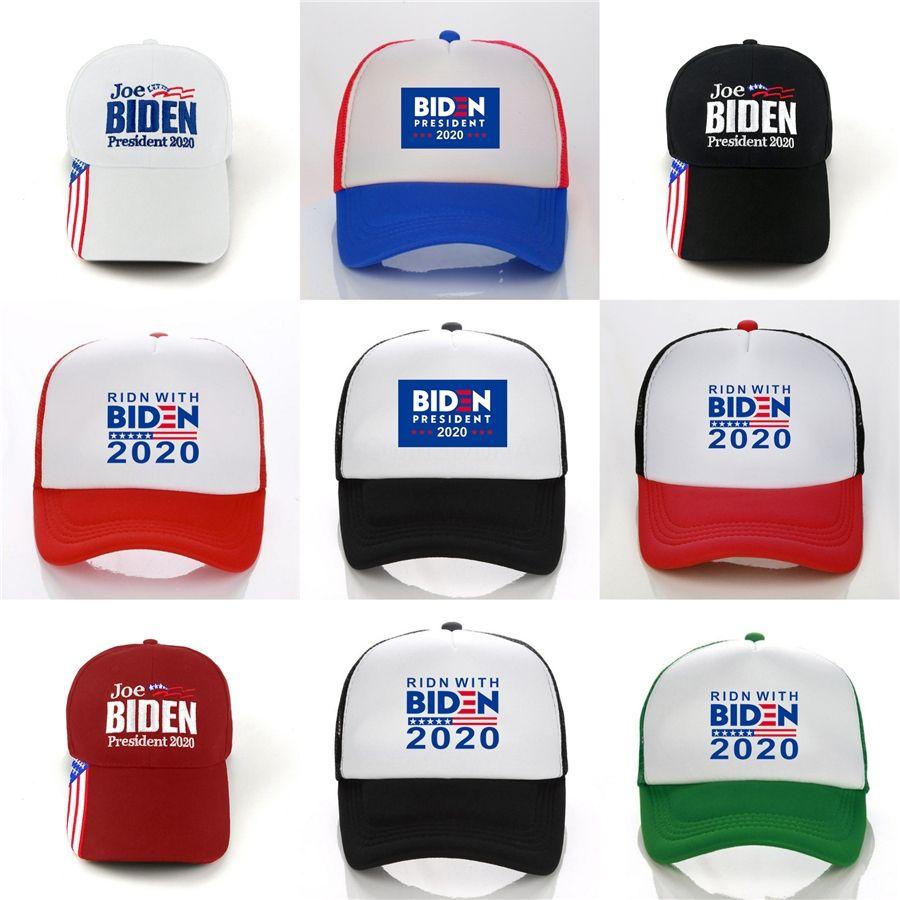 Biden Cappello da baseball Biden Pence lettera stampata rendere l'America Great Again Elezione Berretto da baseball del cappello di Snapback Equipaggiata # 377