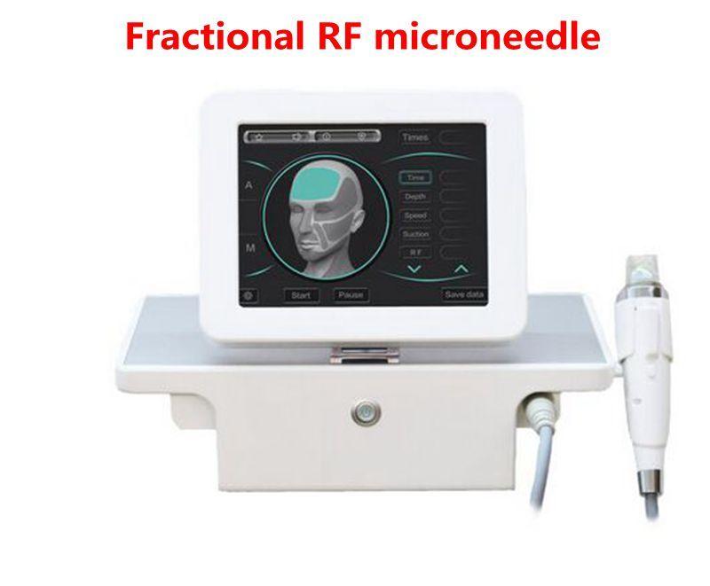 Maniglia di progettazione con 4 punte frazionarme RF Microneedle Machine per la cura del viso Body Snowming Smagliature Rimozione DHL DHL