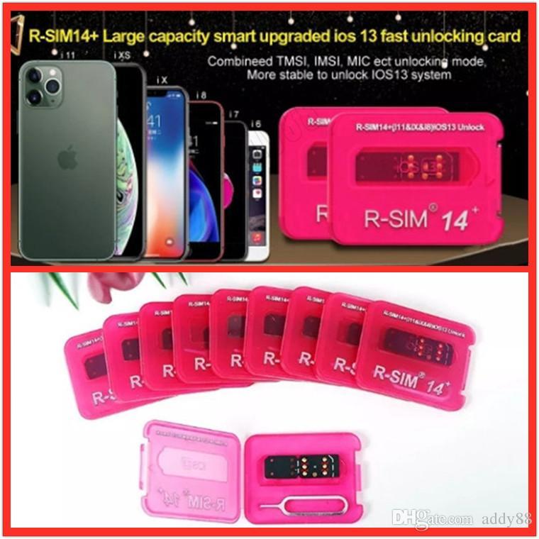 New RSIM 14+ R sim14 + RSIM14 + R SIM 14+ RSIM 14+ Entsperren Karte für Pro iphone 11 Max 8 IOS13 Universal-Schalte-Karte