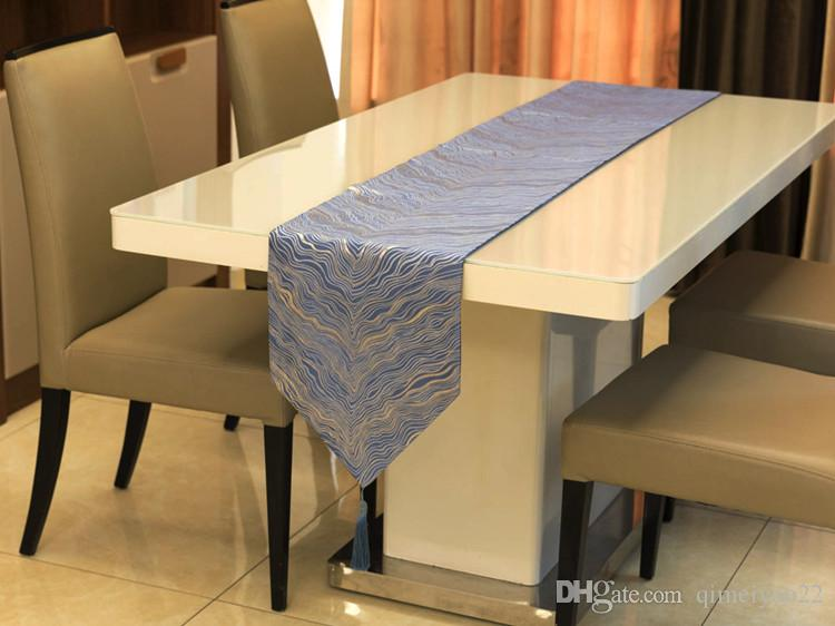 Miraculous Modern Nordic Luxurious Ripple Table Runners Table Flag Korean New Chinese Style Coffee Table Cloth Tablecloth Overlays Tablecloth Runners From Pdpeps Interior Chair Design Pdpepsorg