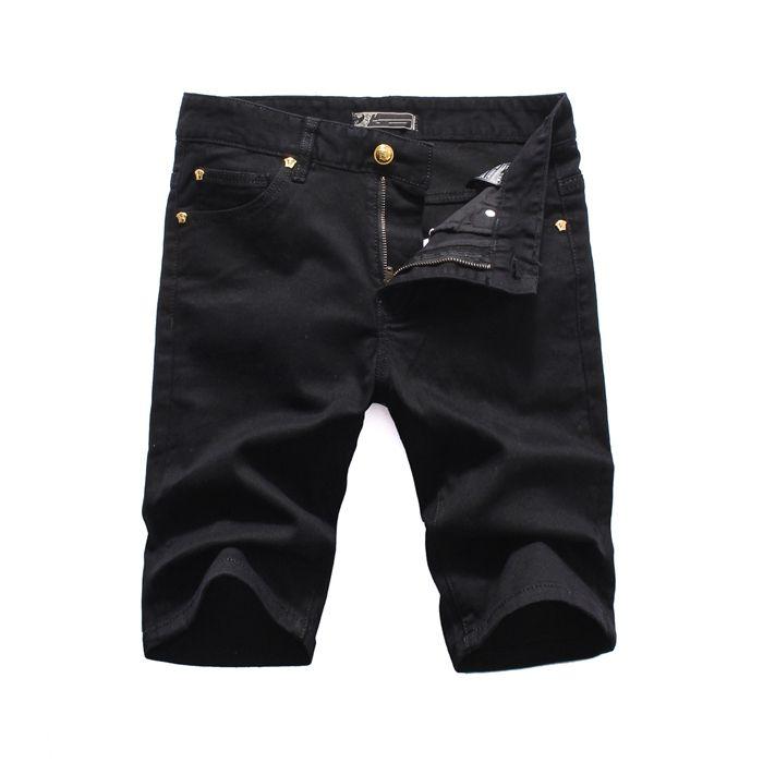 medusa luxo novo 2020 homens Denim Tearing calções Jeans Discoteca azul moda Cotton verão apertado calças de ganga para homem pour hommes