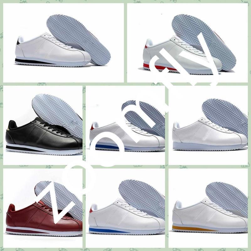 Nike cortez CLASSIC cortezs-Calzado casual para hombres y mujeres Zapatillas deportivas al aire libre Zapatillas deportivas resistentes al desgaste Negro Zapatillas atléticas