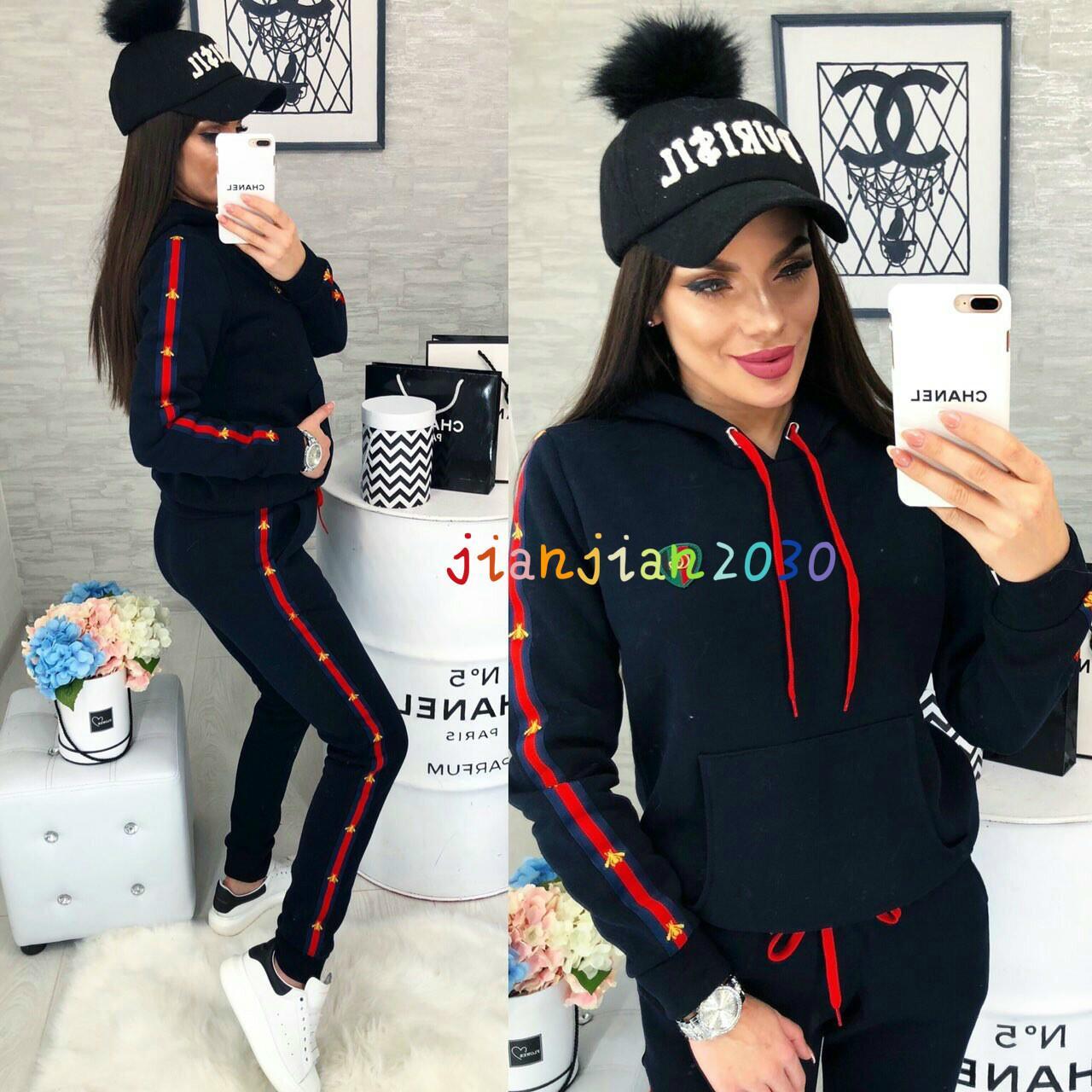 2020 nuevas mujeres ropa deportiva de moda casual de la venta caliente de las mujeres americanas se adapte transfronterizos europeos y TW01723