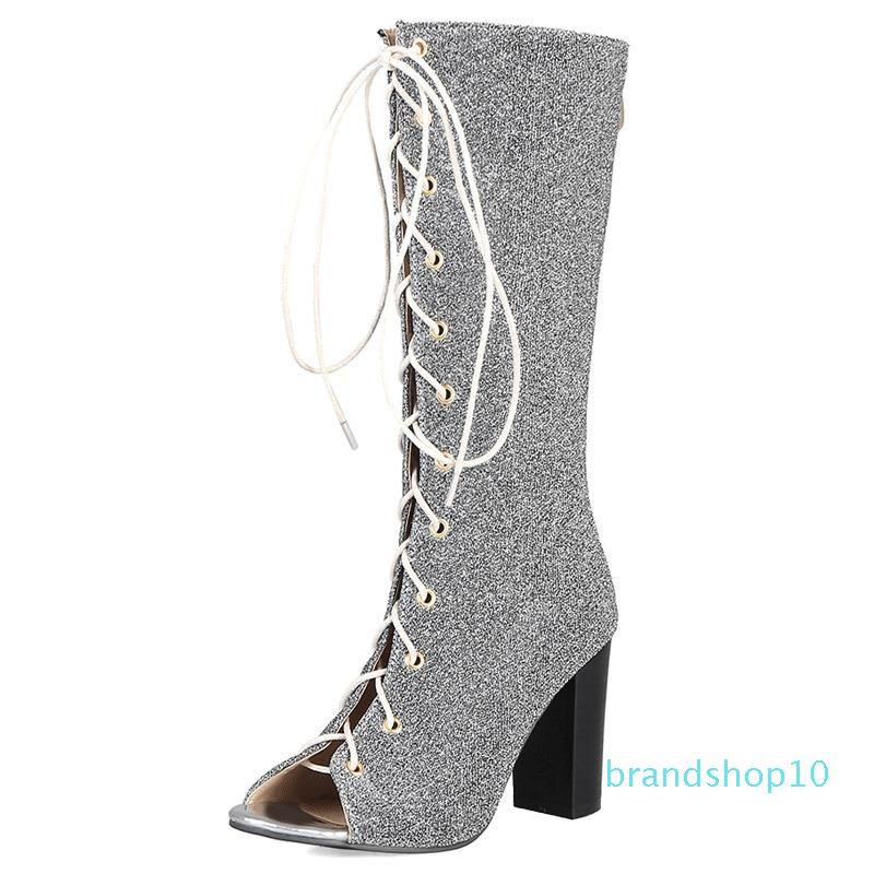 Hot2019 Bandage Crossing à Canister bottes sandales femme Chaussures de nombreuses années de production No Frame Q62 -8