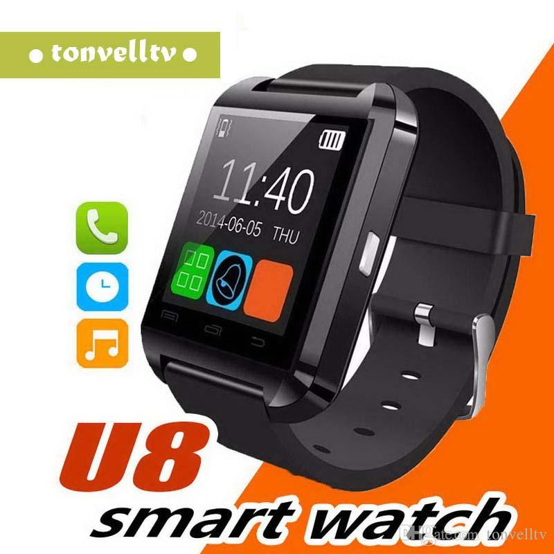 2019 Hot U80 Bluetooth Smart Watch для Apple Watch Samsung Android smart Phone Mate наручные часы PK DZ09 GT08 U8 smartwatch