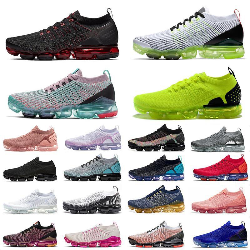Nike Air Vapormax zapatos corrientes de los deportes voltios sur de la playa de platino tinte  amortiguador del diseñador zapatillas de deporte para hombre de Formadores Tamaño 12