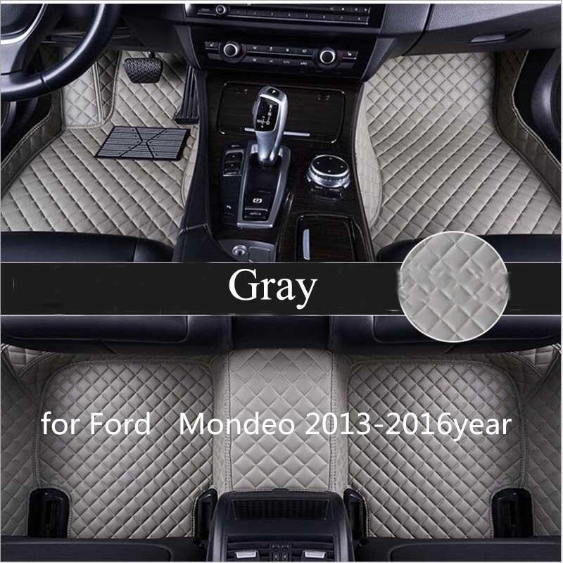 pour Ford Mondeo 2013-2016year antidérapante tampon non toxique pied de voiture tapis de pied