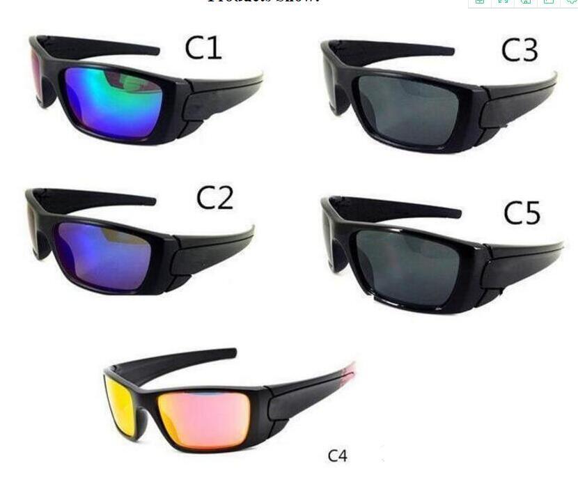 schwarzer Rahmen der Frauenmode für Männer Fahrradglas Sonnenbrillen Brennstoffzellen Sonnenbrillen A +++ Cycling Sonnenbrille