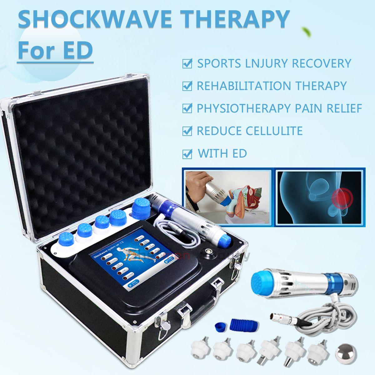 ED Fiziksel Rehab Erektil ESWT Ağrı Yönetimi Tendinit ESWT Profesiyone Vücut Masajı Gun Shockwave Terapi Makine