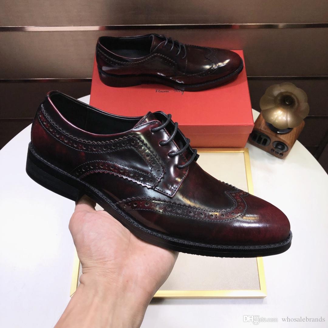 whosale original conçu chaussures habillées pour hommes acajou, chaussures de sport conçu sac à main etc, la meilleure qualité, faite par l'agneau d'origine, crocodileskin