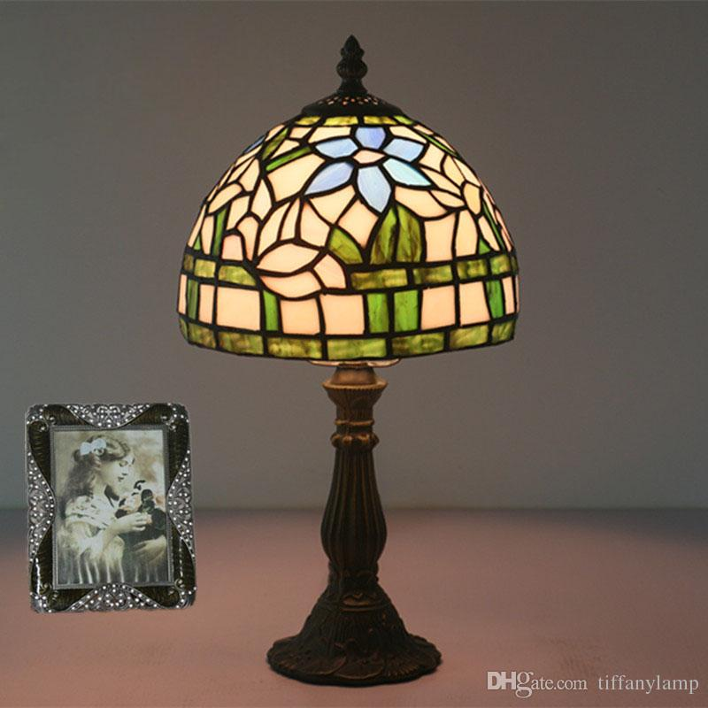 2020 8 Inch Glass Art Lights Tiffany Stained Glass Lampshade