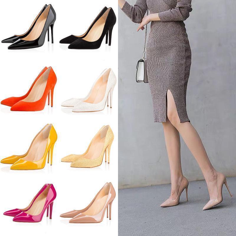 2020 Sayaç iş ofis çalışanları bayanlar yüksek topuklu Avrupa lüks ayakkabılar yüksek kaliteli gerçek deri sandaletler forma9250 # womens altları kırmızı