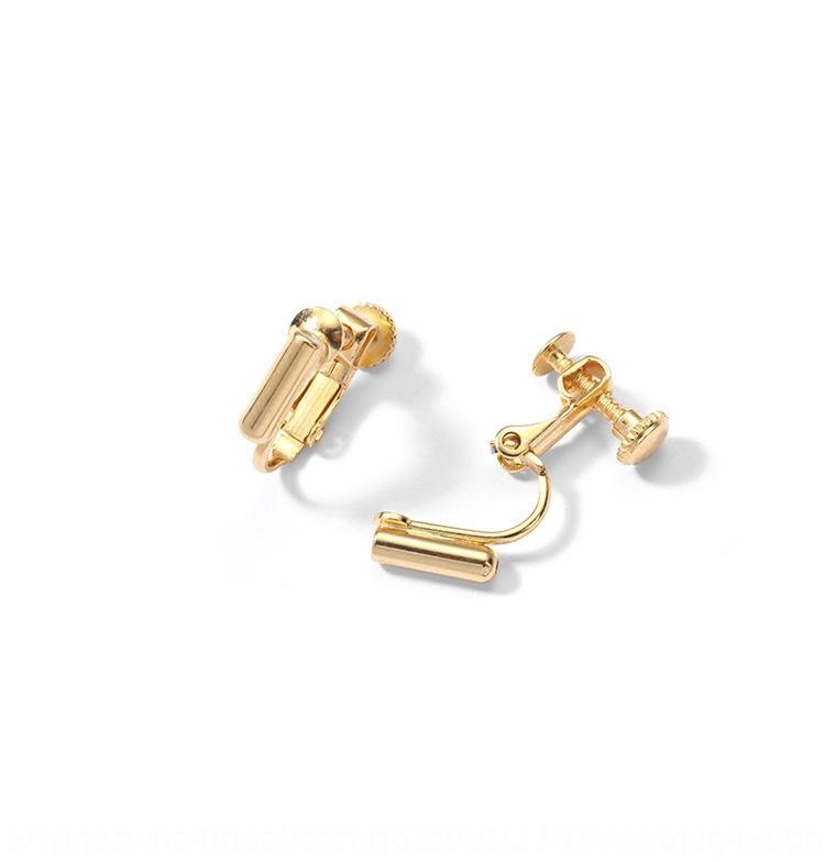 anillos rZuAt clip universal del convertidor del convertidor s pernos prisioneros del pendiente Cambio espiral agujero pendiente sin dolor invisible femenina artefacto ea no oído jXyYI