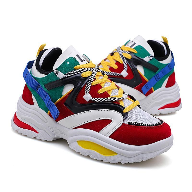 Designer Shoes progettista del Mens Casual Shoes comodo respirabile scarpe piane fitness all'aperto addestratori scarpe da tennis correnti di sport scarpe da tennis M88802