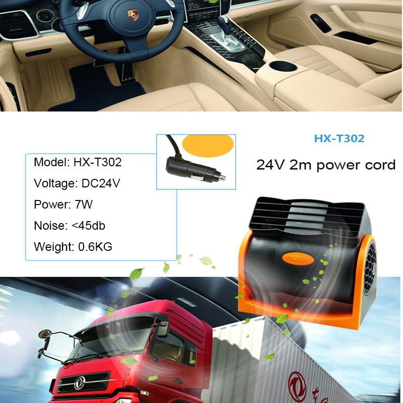 Yaz 12V araç fanı fan çakmak iki hız büyük rüzgar düşük gürültü soğutma Araba fanları