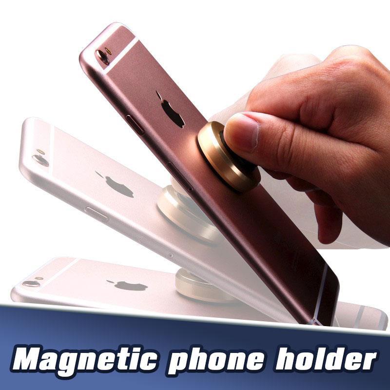 Pour iP11P Samsung S20 ultra Support de téléphone magnétique Aluminimum alliage grille d'aération Smart Phone Holder