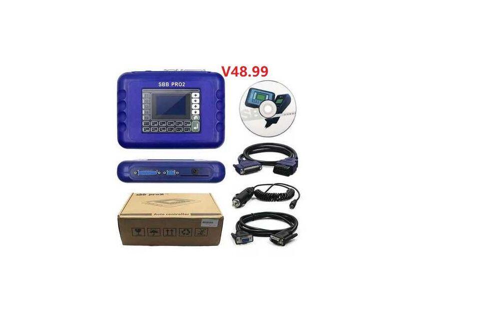 V48.99 SBB مفتاح مبرمج Pro2 هواتف دعم سيارات إلى 2019.1 + البسيطة ZEDBULL سيارات مفتاح بروغ استبدال SBB V46.02 v33.02 SBB مفتاح مبرمج
