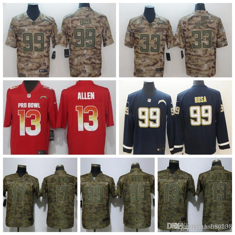 chargers military jersey