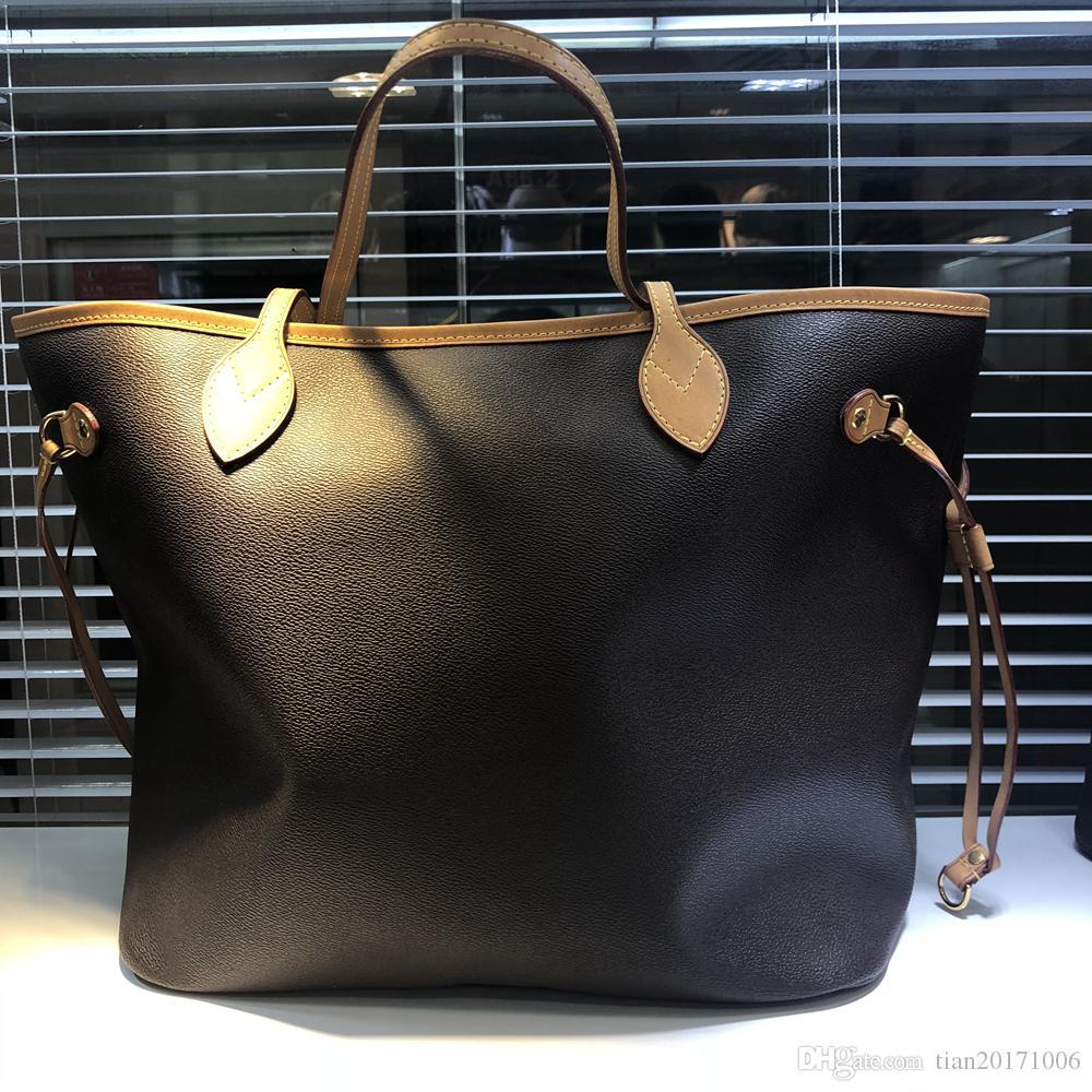 Classic Bolsa de envío Monedero Calidad 2 unids / set Lady Bag Ladies Clutch Top Top Tote Mujer Mujeres Cartera Compuesto Alto Qulity Free Han BIFB