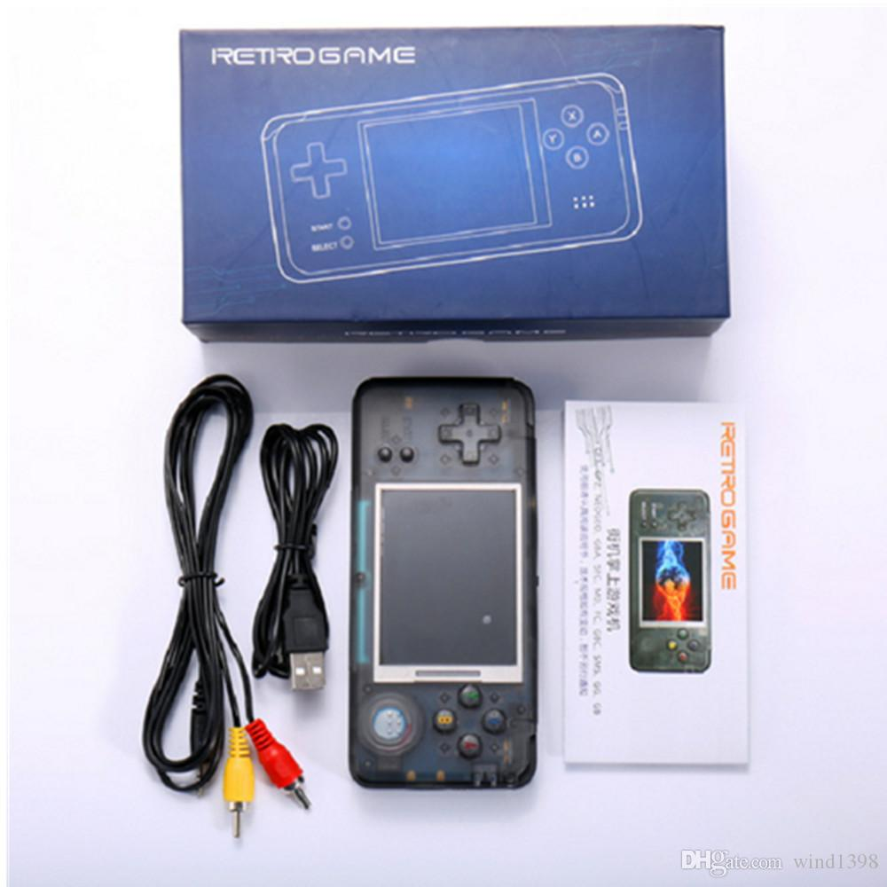 أحدث 3RD 3.0 بوصة شاشة الجيل الرجعية RS-97 لعبة المحمولة وحدة التحكم 16GB المحمولة البسيطة ألعاب الفيديو لاعبين