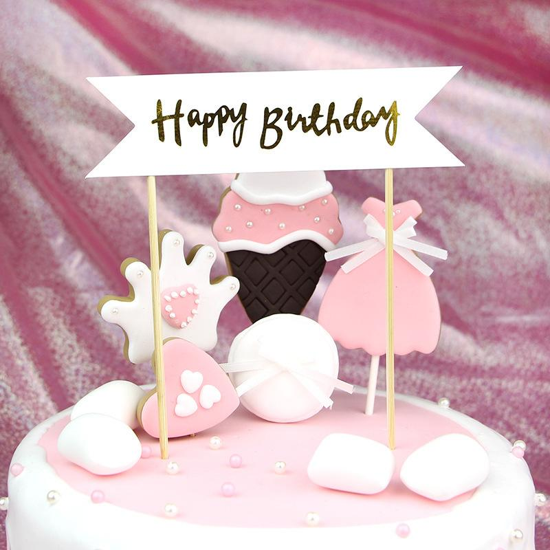 Sensational Happy Birthday Hot Gold Flash Birthday Banner Arch Cake Decorative Birthday Cards Printable Opercafe Filternl