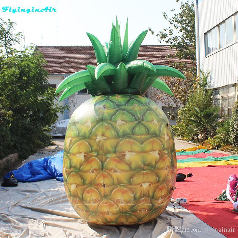 Fruit géant gonflable montré d'Ananas de plage d'ananas gonflable de la publicité 3m
