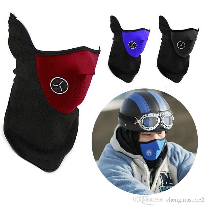 2020 hiver cyclisme en plein air visage garde granule masque coupe-vent froid et anti-poussière ski masque coupe-vent masque pour sports de plein air