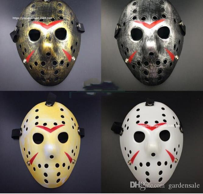 Stylish Jason Voorhees Friday the 13th Horror Hockey Mask Scary Halloween Mask Party Masks Festival Party Masquerade Mask