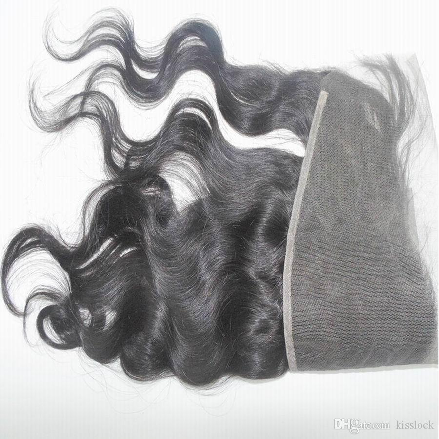 Swiss Lace Frontal Closure Making Wigs Virgin Peruvian Human Hair medium brown lace Wholesale Promotion
