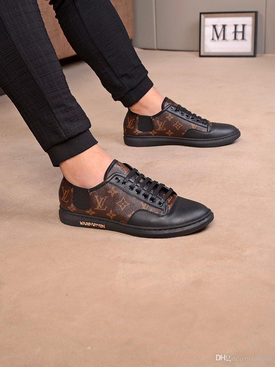 Ae15New édition limitée française série chaussures pour hommes haut de gamme casual, bottes pour hommes chaussures de sport de mode, livraison gratuite boîte à chaussures d'origine 38-44