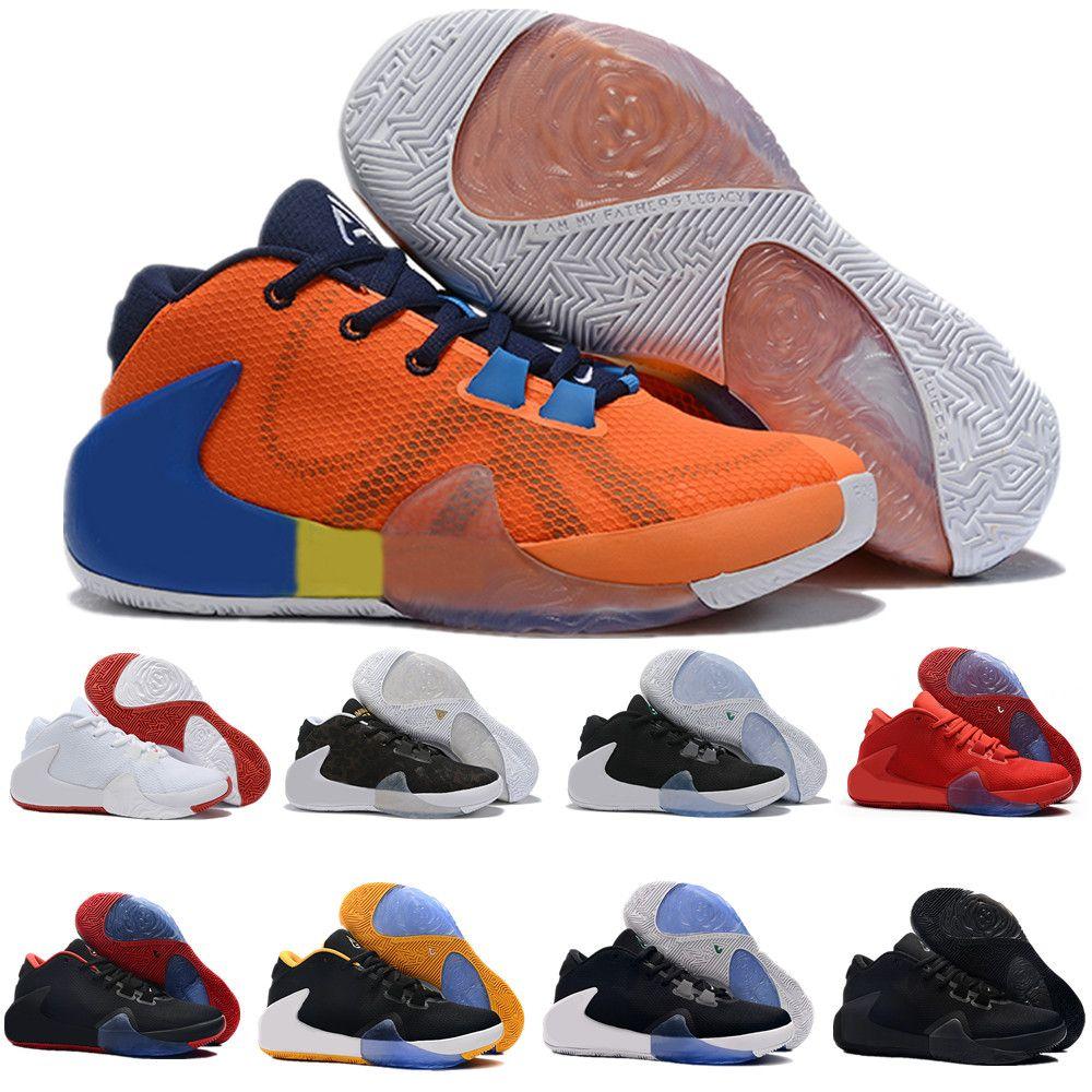 Hot New Meninos Crianças Estilo ZOOM Anormal 1 Giannis Antetokounmpo GA I 1S Sapatos de Basquete Assinatura Barato GA1 Juventude Crianças Kid Sneakers Esportes