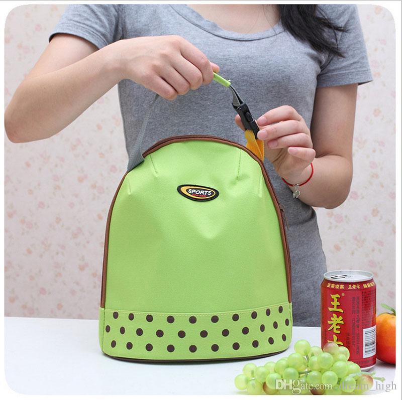 Saco de Almoço Isolado Lancheira Reutilizável Lunch Lunch Tote À Prova D 'Água Saco De Supermercado para Escritório Escola Trabalho para Crianças Adultos