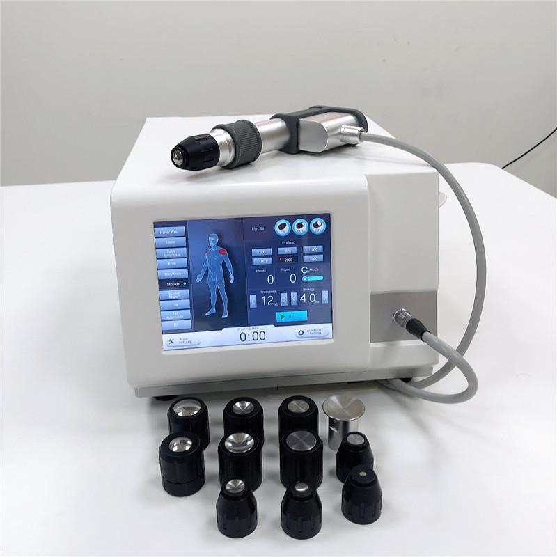 Air pump Pneumatic shockwave Equipment for orthopaedics physical physiotherpay apy equipment shock wave therapy with Ed