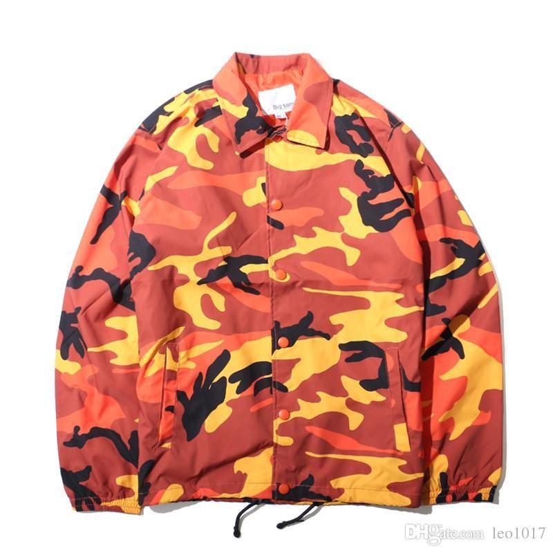 Камуфляж отложным воротником мужские куртки осень 2017 Тонкий Стиль Multy Camo куртки мужчин 8 цветов 7166OU