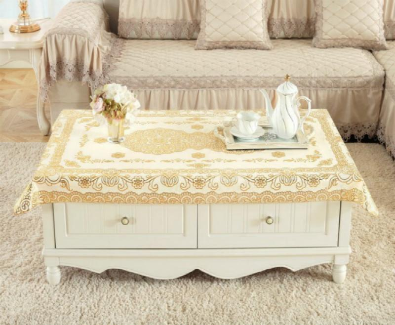 Exquisite Luxury Soft Glass Transparent Pvc Plastic Oilcloth Table