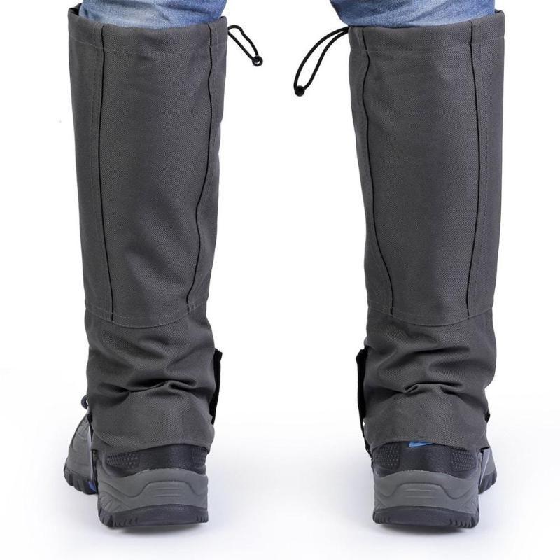 Açık Yürüyüş Su geçirmez Çorapları Yürüyüş Tozluklar Kar Tırmanma Bacak Koruma Görevlisi Spor Güvenlik Kayak Ayakkabı Kapak