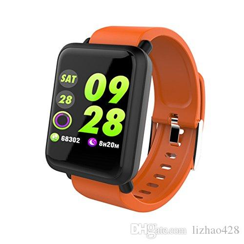 Multifunction Sport Watch for Men Women - M28 Smart Bracelet Heart Rate Monitor Blood Pressure Fitness Tracker for Android 4.4 & iOS 9.0