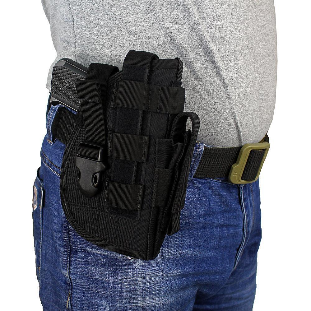 Tactical Fondina Molle modulare Pistol Holster per il diritto Shooters Handed 1911