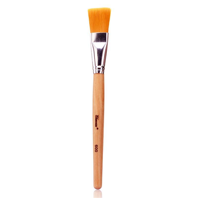 Profesional Cara máscara facial de bambú de la máscara de barro manija de mezcla cepillo de base de la piel Cuidado de cosméticos de los cepillos del maquillaje Herramientas