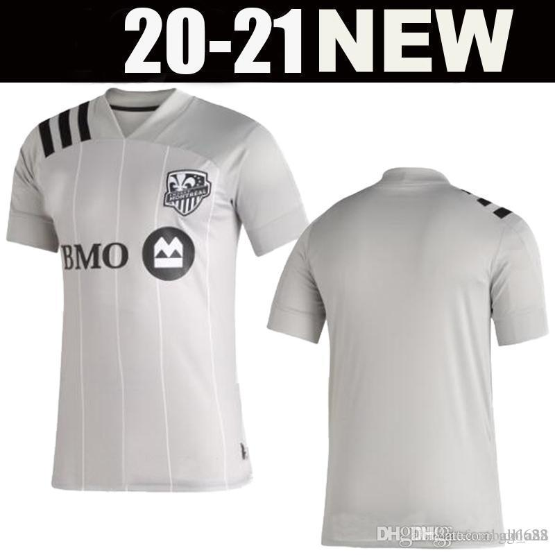 2020 Montreal Impact FUTBOL FORMALARI Taïder 8 PIATTI 10 Krkic 9 Quioto PIETTE 6 MLS 2021 JERSEY FUTBOL shirt ANA
