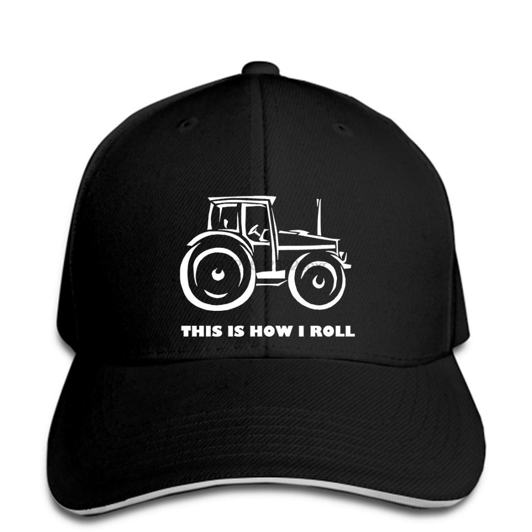 How I Roll Tractor Trucker Hat by Farm Wear