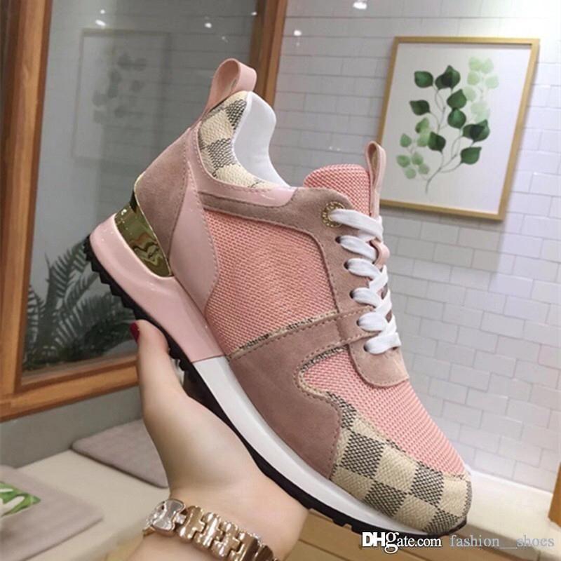 scarpe da donna di lusso del progettista 2019 di moda le scarpe da tennis addestratori scarpe da corsa sport casuali superstar donne designer di scarpe scarpe da donna -2